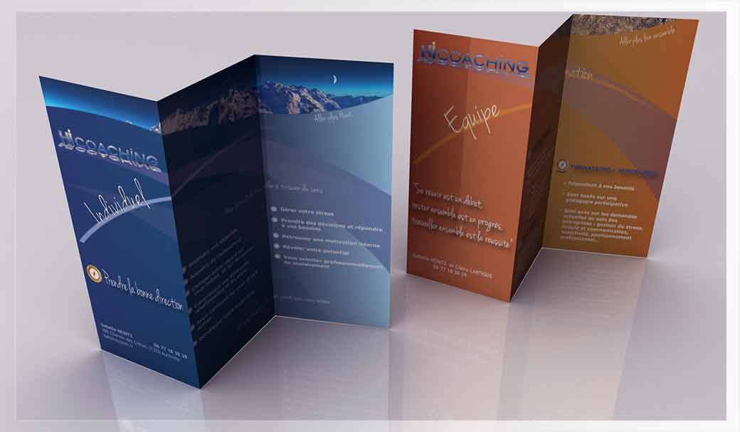 Conception Flyers Catalogue Brochures Carte De Visite Et Autres